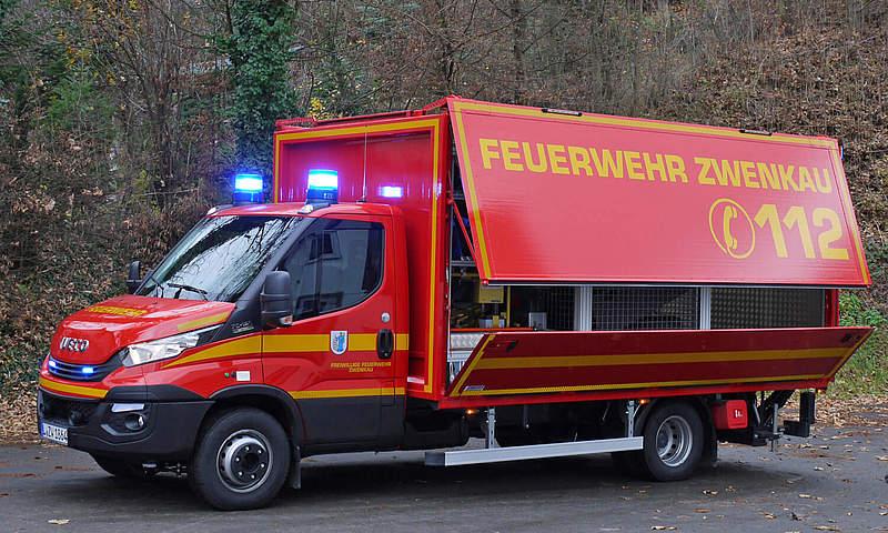 GW-Logistik FW Zwenkau November: Ewers Fahrzeugbau
